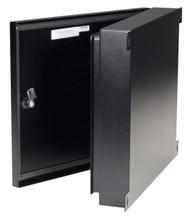 Black Box NEMA-4 Rated Fiber Optic Wallmount Enclosure, 4-Slot JPM4000A-R2