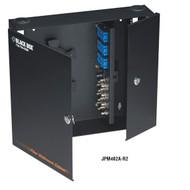 Black Box Wallmount Fiber Enclosure Locking, 4-Slot JPM402A-R2