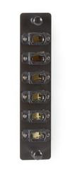 Black Box Fiber Adapter Panel High Density 6 MTP Key Up/Key Down JPM470