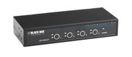 Black Box KVM Switch, 4 Port, PS/2 Servers & Consoles KV9004A