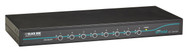 Black Box KVM Switch, 8 Port, DVI, PS/2 or USB Servers & USB Consoles KV9508A