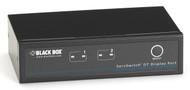 Black Box Desktop KVM Switch, 2 Port, DisplayPort,USB, Bi-Dir USB Audio KV9702A