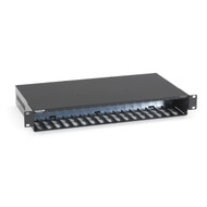 Black Box Power Tray 18-Slot for Multipower Miniature Media Converters LHC018A-AC-R2