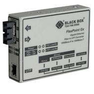 Black Box Media Converter Gigabit Ethernet Multimode 850nm 220m SC LMC1003A-R3
