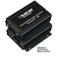 Black Box Async RS232 RS422 RS485 extender fiber Terminal Block ST MM MD650A-85