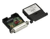 Black Box Async RS232 Extender over CATx DB25 F to Terminal Block ME721A-F-R3