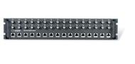 Black Box 16 Port G.703 75 -120 ohm Balun 19 inch rackmount panel 2U MT243A