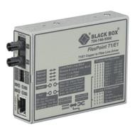 Black Box Media Converter T1/E1 Single Mode 1300nm 28km ST MT661A-SM