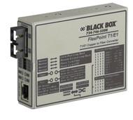 Black Box Media Converter T1/E1 Multimode 1300nm 5km SC MT662A-MSC
