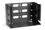 Black Box 6U Wallmount Rack, 12-24 , TAPPED RAILS Holes, 75lbs RM095A-R2