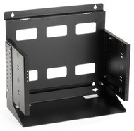 Black Box 6U Wallmount Rack, 12-24 , TAPPED RAILS Holes, 75lbs RM096A-R2