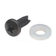 "Black Box Panhead Screws, 10-32, 5/8"", 20-Pack RM528-R2"