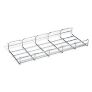 "Black Box Cable Tray Section, 2""H x 78""L (5.1 x 198.1 cm), 8""W (20.3 cm), 4-Pack RM714A"