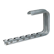 "Black Box BasketPAC Cable Tray C-Bracket, 12"" RM734"