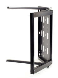 Black Box 12U Wallmount Rack, 10-32 , TAPPED RAILS Holes, 100lbs RMT071A-R2