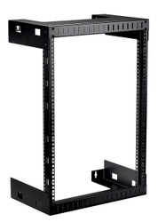 Black Box 15U Wallmount Rack, M5 Square Holes, 200lbs RMT991A