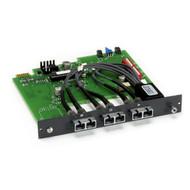 Black Box Gang switch 4U multimode fiber ST A/B card latching SM977A-ST