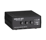 Black Box Desktop RJ45 4 to 1 CAT6 Ethernet 10G Manual Switch SW1032A