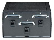 Black Box Desktop Dual DB25 DB25 2 to 1 Manual Switch FFF All Leads SW184A