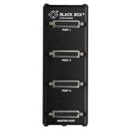 Black Box 3-Port RS232 DB25 Passive Splitter TL073A-R4