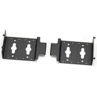 "Black Box Dual PDU Mounting Brackets for 30"" Wide Elite Cabinets, 2-Pack ECPDUMK30"