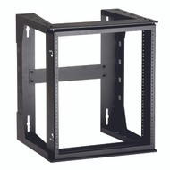 Black Box 12U Wallmount Rack, 10-32 , TAPPED RAILS Holes, 75lbs RM070A-R3