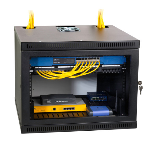 Kendall Howard 8U Security Wall Mount PCI Cabinet