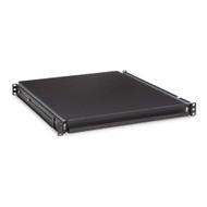 "Kendall Howard 1U 20"" Rack Mountable Sliding Shelf"