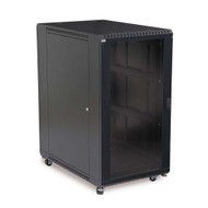 "Kendall Howard 22U LINIER Server Cabinet - Glass/Vented Doors - 36"" Depth"