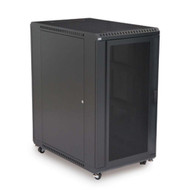 "Kendall Howard 22U LINIER Server Cabinet - Convex & Vented Doors - 36"" Depth"