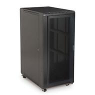 "Kendall Howard 27U LINIER Server Cabinet - Convex & Vented Doors - 36"" Depth"