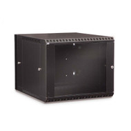 Kendall Howard 9U LINIER PCI Swing-Out Wall Mount Cabinet - Glass Door