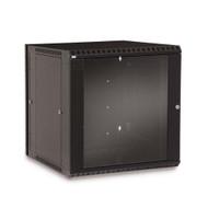 12U LINIER® Swing-Out Wall Mount Cabinet - Glass Door