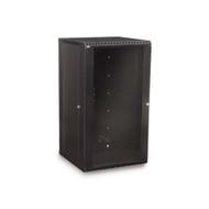 Kendall Howard 18U LINIER® Fixed Wall Mount Cabinet - Glass Door