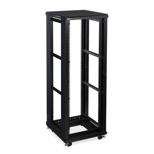 "Kendall Howard 37U LINIER Open Frame Server Rack - No Doors or Side Panels - 24"" Depth"