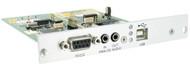 Black Box KVM Transmitter,2-way Audio,RS232, USB HID,Expansion Card,Mod Ext ACX1MT-ARH