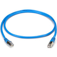 Black Box CAT5 Shielded Twisted-Pair Cable (STP) with Molded Boots, T568B, 4-Pai EVNSL171BL-0015