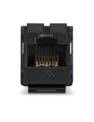 Black Box Cat6 Unshielded Keystone Jack Black FMT631-R3