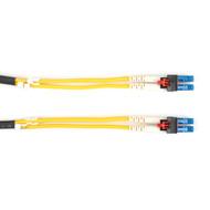 Black Box LockPORT Key Locking Single-Mode, 9-Micron, Duplex Fiber Optic Pat FOR-KL-SM-010M-LCLC