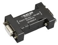 Black Box Async RS232 to RS485 interface converter DB9 to DB9 IC1625A-F