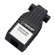 Black Box Async RS232 to RS422 Interface Converter, DB9 to RJ-45 IC631A-F