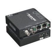 Black Box Hardened Media Converter Switch, 10-/100-Mbps Copper to 100-Mbps F LBH100AE-H-ST
