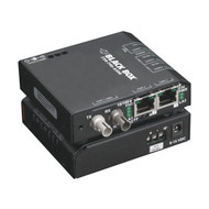 Black Box 3 Port Industrial Fast Ethernet Switch Hardened Temperature LBH100A-H-SC-24