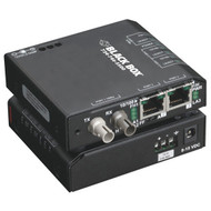 Black Box 3 Port Industrial Fast Ethernet Switch Standard Temperature LBH100A-SC