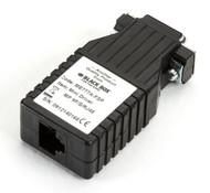 Black Box Async RS232 Extender over CATx DB9 M to RJ45 ME777A-FSP