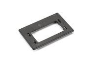 Black Box Black Modular Furniture Reducing Plate for Herman Miller WPTRP-BK