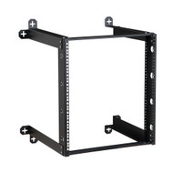"12U V-Line Wall Mount Rack 18"" Usable depth Limited Lifetime Warranty"