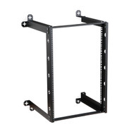 "16U V-Line Wall Mount Rack 18"" Usable depth Quality Wall Rack"