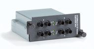 Black Box 4-Port, 100BASE-FX Switch Module for LE2700 Chassis, MM, 2km, ST LE2711C