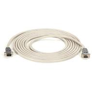 Black Box RS232 Shielded Null Modem Cable w/ Metal Hoods DB9M/F 25Ft. EYN257T-0025-MF